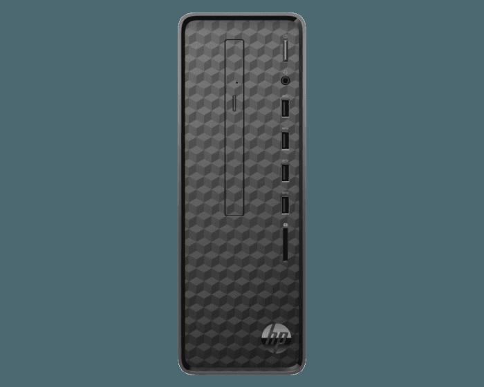 HP S01-AD0106D Slim Desktop (S01-AD0106D), Intel Pentium J5005, 4GB DDR4, 1TB, DVDRW, Intel HD Graphics, Keyboard +Mouse, Windows 10