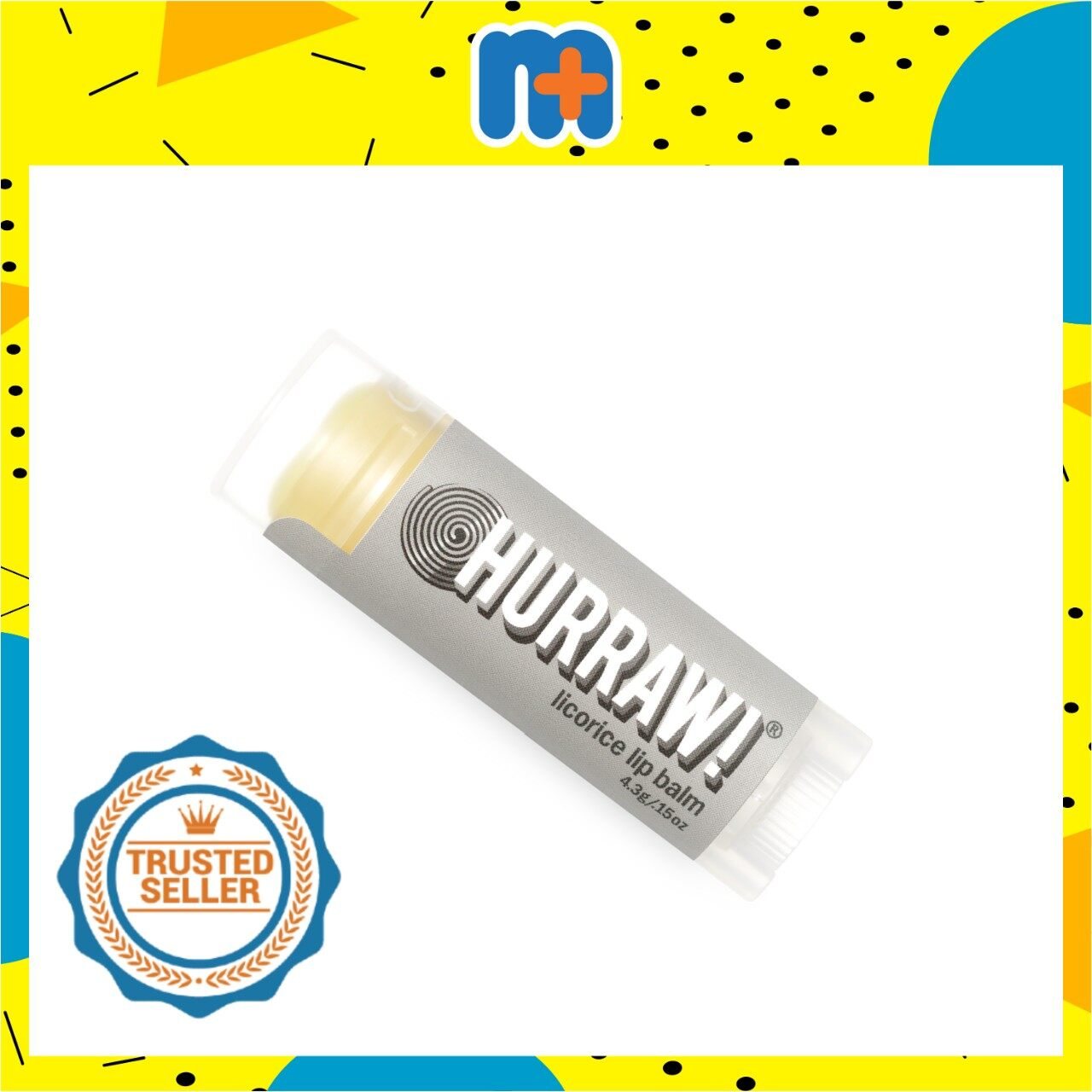 [MPLUS] HURRAW LICORICE LIP BALM 4.8G