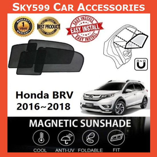 Honda BRV Magnetic Sunshade ?6pcs?