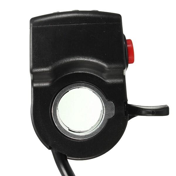 Moto Accessories - E-Bike Electric Car Throttle Engine 3 LED Indicator Display Button Switch - 48V / 36V / 24V