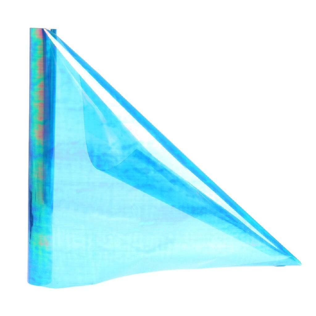 Car Stickers - Chameleon Blue Headlight Taillight Car Fog Light Vinyl Film Protector - Accessories