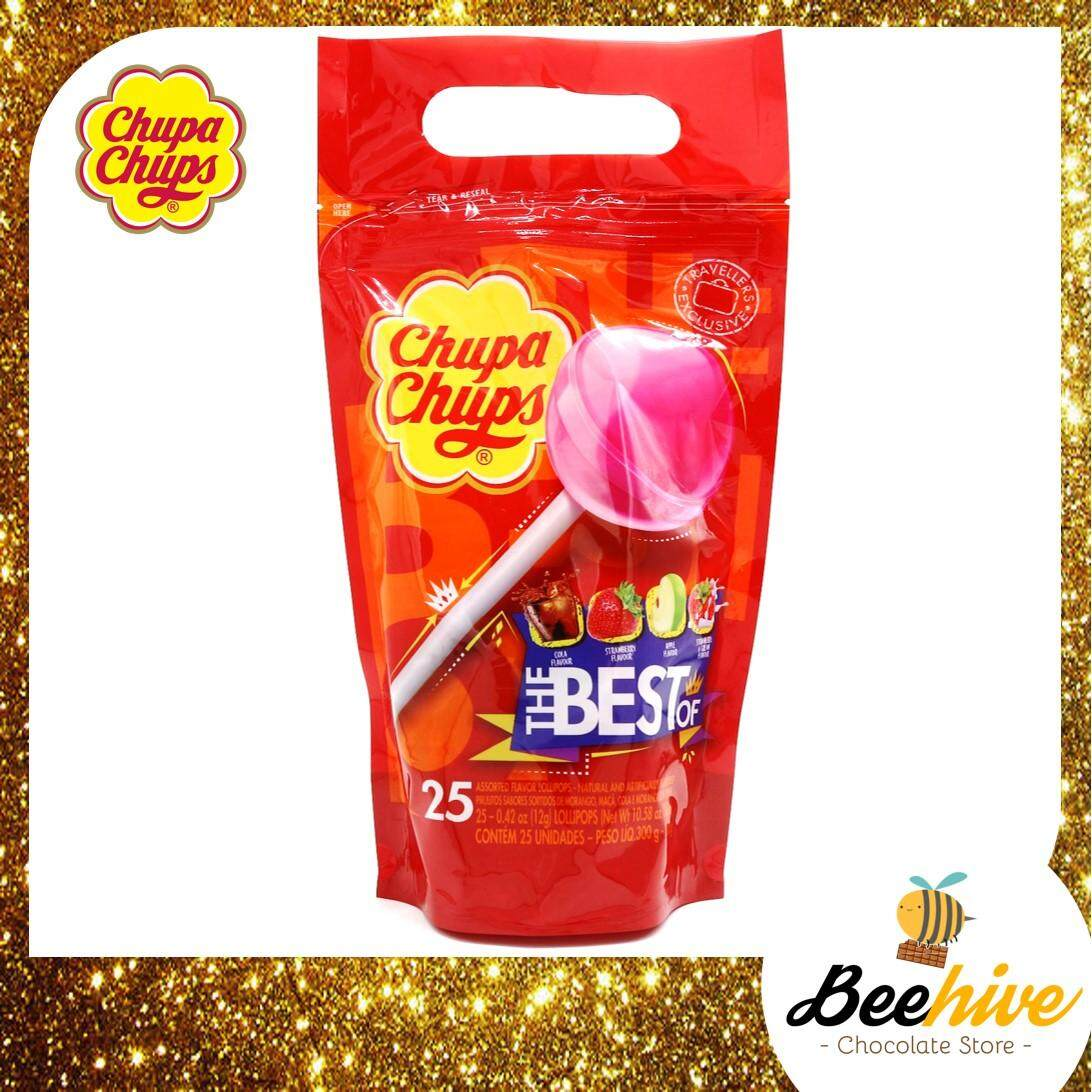 Chupa Chups The Best Of 25 Lollipops 300g
