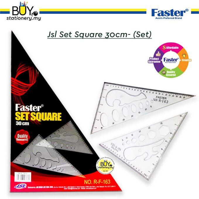Faster Set Square 30cm
