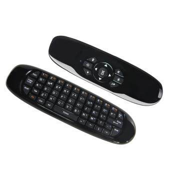 Harga 2.4G Wireless Full Keyboard Air Mouse Remote Control for Smart TV /Android Box / TV Dongle / Smart Phone / Tablet PC