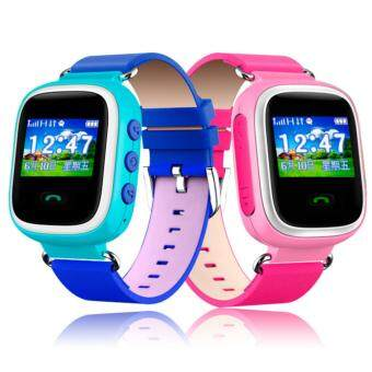 2Cool Smart Watch for Kids Gift GPS Kids Tracker Position SOS PhoneCall Children SmartWatch with SOS(Blue)