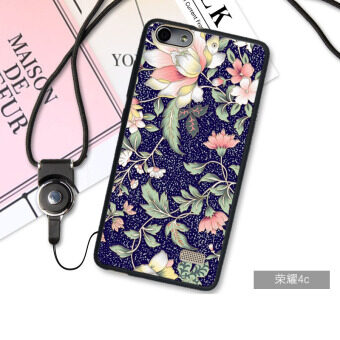 3D Relief TPU Soft Phone Case for Huawei Honor 4C (Multicolor)