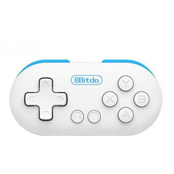 8Bitdo Zero MINI Bluetooth Game Controller Gamepad Remote Shutter (Blue)