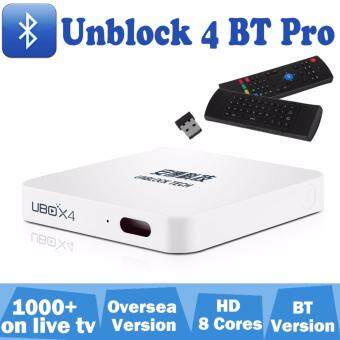Air mouse+ Unblock 4 Android 5.1 smart TV Box bluetooth 16G with account to watch 1000+free live tv on PC tablet smartphone