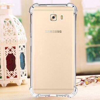 [Anti Shock] Samsung Galaxy A5 2017 Anti Shock Transparent Back Case Soft Thin TPU