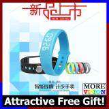 [Attractive Free Gift!] W5 Smartband Sport Pedometer Wristband LED Smart Watch USB