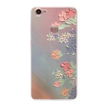VIVO X6/V3 cool soft silicone rose can be phone case protective case