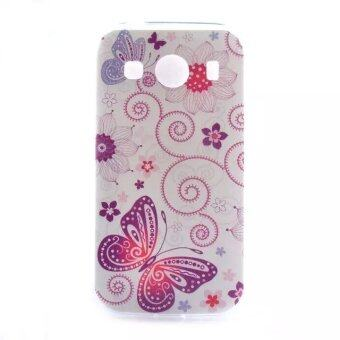 Butterfly Ultra Thin Gel TPU Case For Samsung Galaxy Ace 4 G357FZ Style