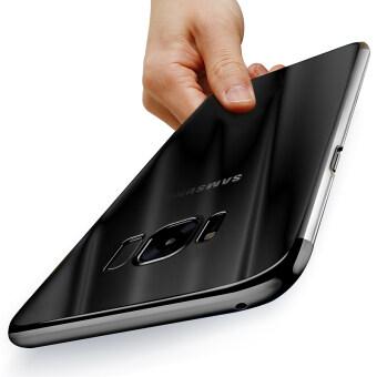 CAFELE For Samsung S8 Plus Case Samsung Anti-Fingerprint Plating Soft TPU Transparent Cover case