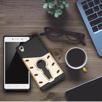 Case For BBK VIVO Y51 Case Silicone TPU + PC 360 Rotation Stand Armor Phone Shell