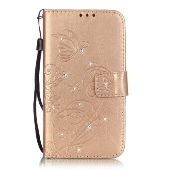 Case For Samsung Galaxy Ace 4 Cover Luxury Flip Leather GALAXY
