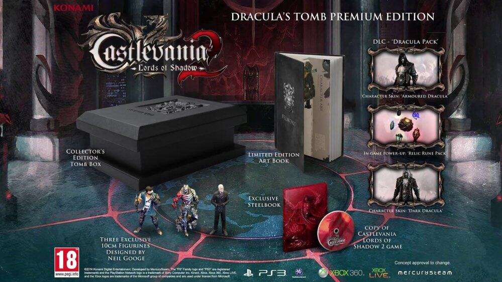 Castlevania Lord Of Shadows 2: Draculas Tomb Limited Premium Edition