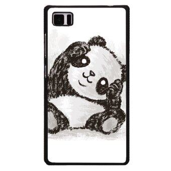 Cute Panda Phone Case For XiaoMi Mi3 Black