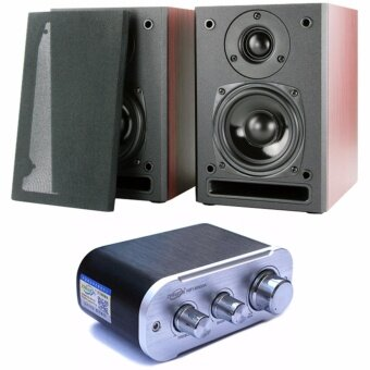 D42 High End High-End Mini Hifi System With 4 Inch Bookshelf Speaker