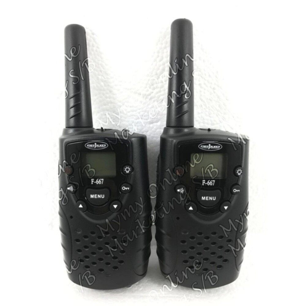 F-667 Two Way Radios Walkie-Talkie 1 Pair (2 units)