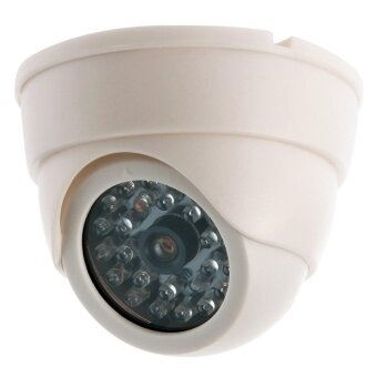 Fake Dummy Waterproof CCTV Camera Home Dome Security Surveillance LED System