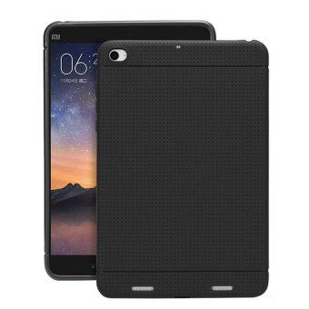 Fashion Soft Silicon Back Cover Case For Xiaomi Mi Pad 2(Black)