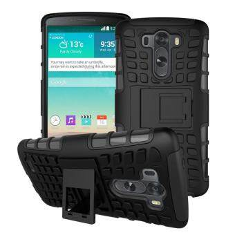 For LG Optimus G3 Case Heavy Duty Armor Shockproof Hybrid Hard Silicon Rugged Rubber Phone Cover