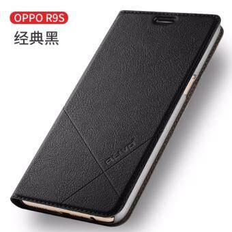 Anggaran Terbaik BYT Flower Debossed Leather Flip. Source · For OPPO R9s Flip Type Leather Cover Case Luxury Pu Leather Case (Black)
