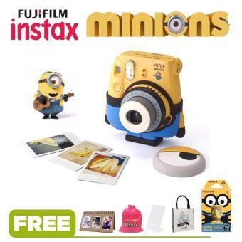 FujiFilm Minion Instax Mini 8 Camera Minion Theme + Free 10 pcs Film