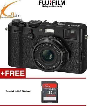 Fujifilm X100F Digital Camera (Black)FUJI MALAYSIA WTY