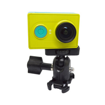 Harga GOPRO Accessories 360 Degree Rotary Tripod Mount Adapter HeadRotary Arm Connector GOPRO Small Ant Parts - Black