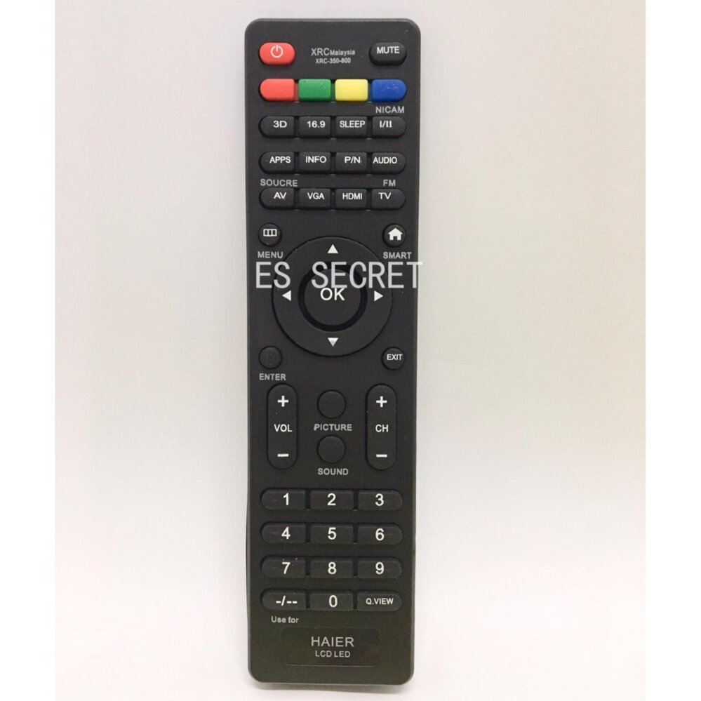 HAIER UNIVERSAL LCD/LED TV REMOTE