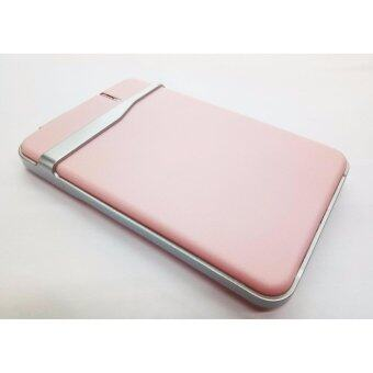 "Harga Hard Disk Case USB 2.5""Slim Sata Hard Drive Mobie Disc HD HDD CaseEnclosure External USB 3.0 (PINK)"