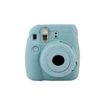 Harga Noctilucent Camera Case Skin Cover For FUJIFILM Instax Mini8 Mini8s Blue