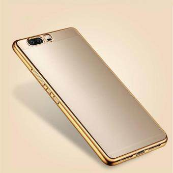 Harga HOECOGE Ultra thin Plating Mobile Phone Case For Huawei P10 5.1 inch Electroplated Soft Silicone Phone Cover For Huawei P10