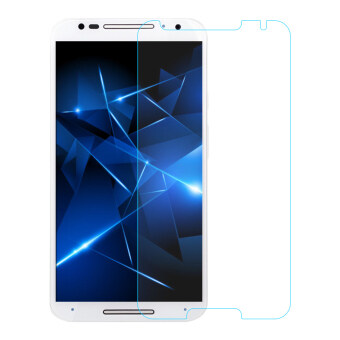 Harga Luxury Hard Tempered Glass Screen Protector Film For Motorola Moto E3 / Moto E (3rd gen) (Clear)