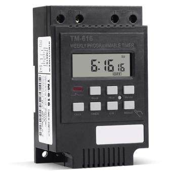 Harga 7 Day Heavy Duty Digital Electric Programmable Timer 220V 30A Weekly Timer NEW