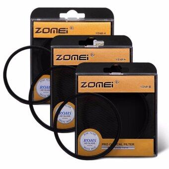 Harga Zomei 58mm Cross Star Filter 4 Points + 6 Points + 8 Points Cross Starburst Lens Filter