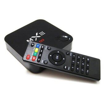 Harga MX MXIII 4K TV Box Android 4.4.2 Quad Core XBMC 1080P HD AirPlay Miracast
