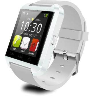 Harga Jo.In U8 Bluetooth Wrist Smart Touch Screen Watch for Android andiOS + FREE USB Cable