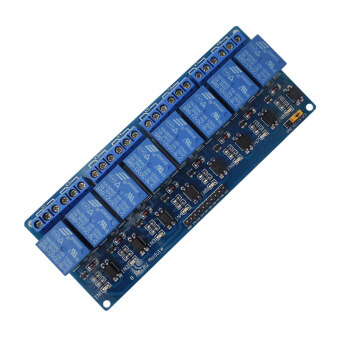 Harga 8-Channel 12V Relay Shield Module for Arduino UNO 2560 1280 ARM PIC AVR STM