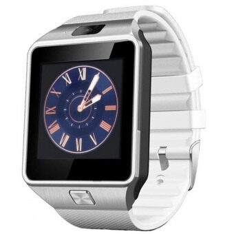 Harga DZ09 Smart Watch For Android And iOS-White - Intl