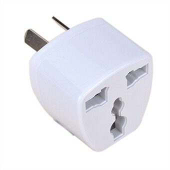 Harga UK/US/EU Universal to AU AUS Power Plug Adapter Travel 3 pin Converter Australia