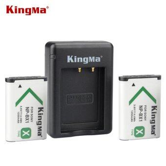 Harga Kingma NP-BX1 Dual Battery with Charger 1250mAh for Sony RX1R RX100 RX100II HX90 HX400