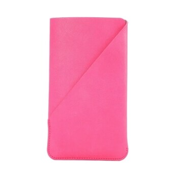 Harga DIP Mobile Phone Bag Coque Capa Case Cover For Pouch Holster Cover Case Cell Phone Bags Cases 6.3inch(Rose)