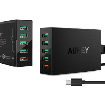 Harga Aukey Quick Charge 3.0 Wall Charger Adapter AUKEY-PA-T15