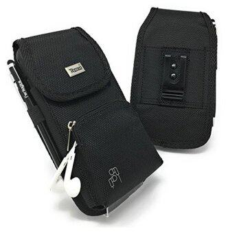 Harga iPhone 6 6s 7 Holster With New Front Pocket Storage. Strong Rugged Carrying Case With Belt Clip, Perfect Pouch For Cell Phone With OtterBox, Lifepoof or Battery Cases. Bonus Perilogics Stylus Pen (BK)