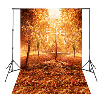 Harga 24 Hours Ship Out Beautiful Autumn Golden Trees Leaves Backgrounds for Photo Studio Photography Backdrop Photocall Para Bodas