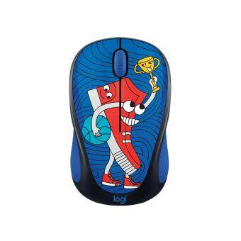 Harga LOGITECH DOODLE COLLECTION M238 WIRELESS MOUSE -SNEAKERHEAD FREE:15 STICKER INSIDE