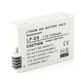 Harga KEEP Camera Lithium Battery For Canon LP-E8