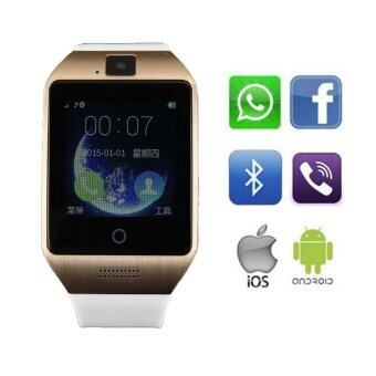 Harga ZenGear Apro Smartwatch Built-in with 8GB memory storage & Support NFC SIM Card Camera for iOS Android (Gold)